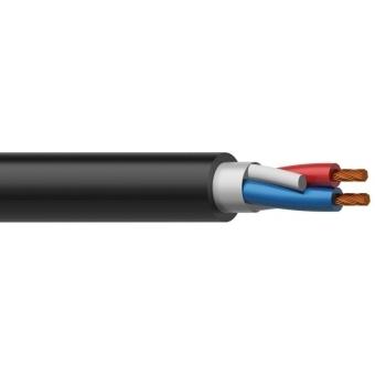 LS07/1 - Speaker Cable Bc Round -2x0.75mm² - 100m