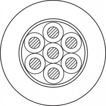 LS815/05 - Speaker Cable Bc Round -8x1.5mm² - 50m #2