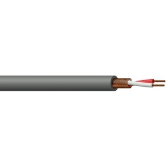 MC105G/1 - Microphone Cable - 2x 0.125mm²- Grey - 100m
