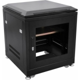 ROADINGER Steel Cabinet SRT-19, 6U with door