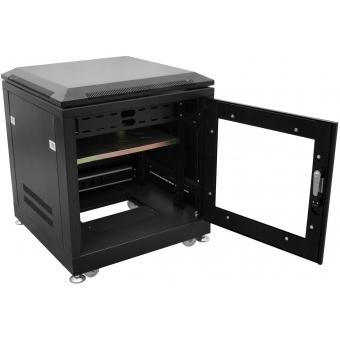 ROADINGER Steel Cabinet SRT-19, 10U with Door #2