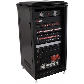ROADINGER Steel Cabinet SRT-19, 12U with Door #2