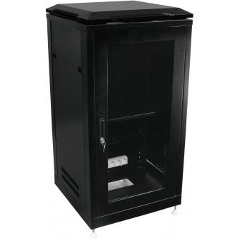 ROADINGER Steel Cabinet SRT-19, 28U with Door