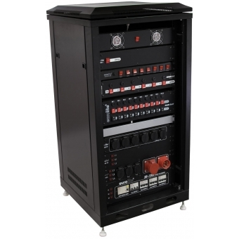 ROADINGER Steel Cabinet SRT-19, 28U with Door #2