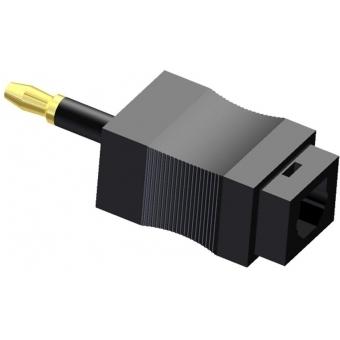 OCT125 - Optical Adaptertoslink-miniplug - Pair