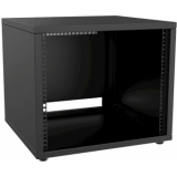 "PR209/B - 19"" Rack Cabinet - 9 Unit - 500 Mm - Flat Down - Black"