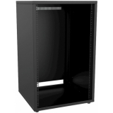 "PR218/B - 19"" Rack Cabinet - 18 Unit - 500 Mm - Flat Down  - Black"