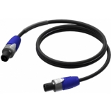 PRA502/1.5 - loudspeaker cable - 2-pin speakON - HighFlex™ - 1.5 meter