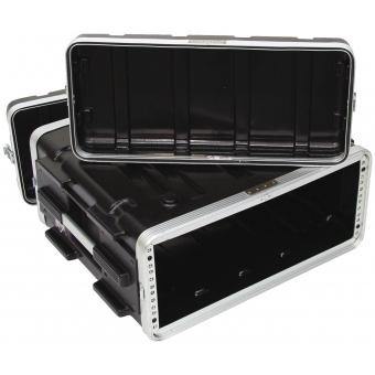 ROADINGER Plastic-Rack KR-19, 4U, DD, black #3