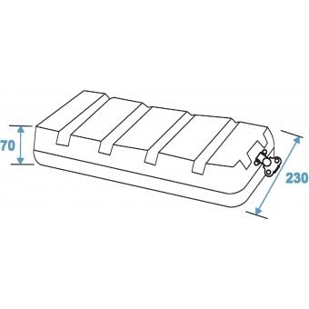 ROADINGER Plastic-Rack KR-19, 4U, DD, black #4