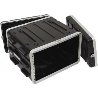 ROADINGER Plastic-Rack KR-19, 6U, DD, black #3