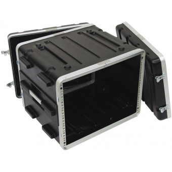 ROADINGER Plastic-Rack KR-19, 8U, DD, black #3
