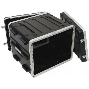 ROADINGER Plastic-Rack KR-19, 8U, DD, black #3