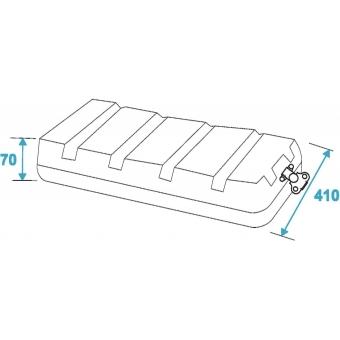 ROADINGER Plastic-Rack KR-19, 8U, DD, black #4