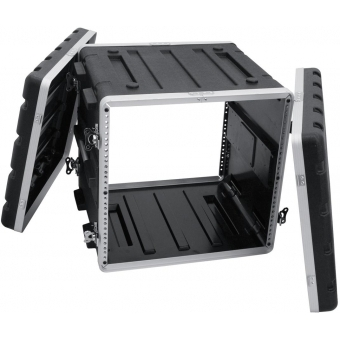 ROADINGER Plastic-Rack KR-19, 10U, DD, black