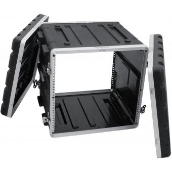 ROADINGER Plastic-Rack KR-19, 10U, DD, black