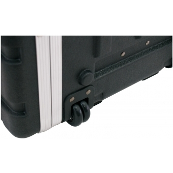 ROADINGER Plastic-Rack 19, 7U, DD/trolley, black #4