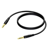 REF610 - 6.3 mm Jack male stereo to 6.3 mm Jack male stereo - 3 METER - 20 PCK