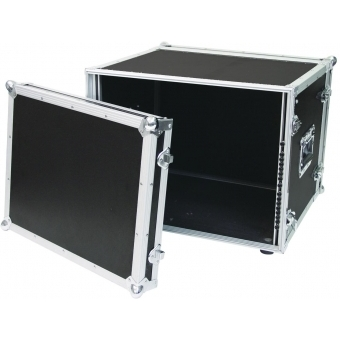 ROADINGER Effect Rack CO DD, 8U, 38cm deep, black #3