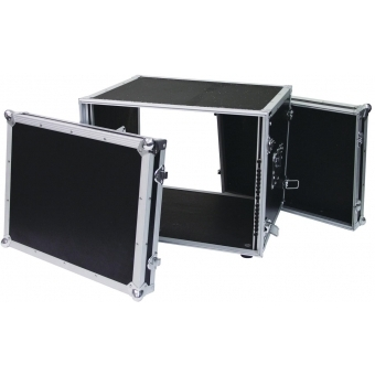 ROADINGER Effect Rack CO DD, 8U, 38cm deep, black #5