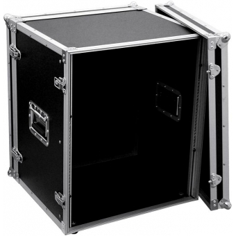 ROADINGER Effect Rack CO DD, 12U, 38cm deep, black #3