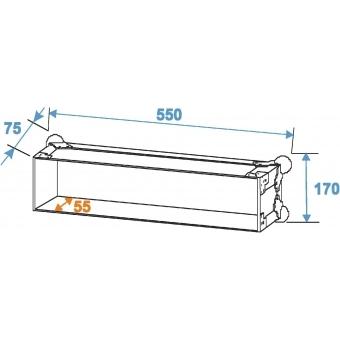 ROADINGER Rack Profi 2U 45cm #6