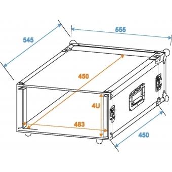 ROADINGER Rack Profi 4U 45cm #2