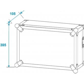 ROADINGER Amplifier Rack SP-2, 6U, shock-proof #7