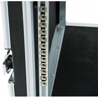 ROADINGER Amplifier Rack SP-2, 8U, shock-proof #4