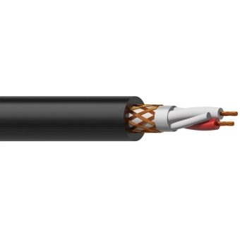 RMC305/1 - Reference Microphone Cable -2x 0.22mm² - Black - 100m