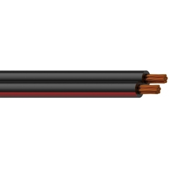 RZ40/1 - Reference Speaker Cablered-black - 2x4mm² - 100m
