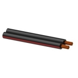 RZ40/5 - Reference Speaker Cablered-black - 2x4mm² - 500m