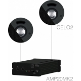 SENSO2.2/B - Small Background Set Amp20 & 2xcelo2 - Black
