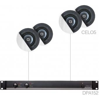 SENSO5.4 - SMALL BACKGROUND DPA152 & 4X CELO5 - Black version #2