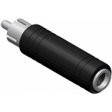 VC103 - Adapter Rca/cinch Male - Jackfemale