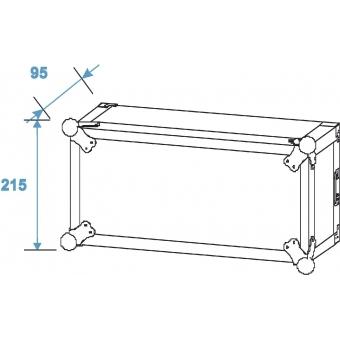 ROADINGER Amplifier Rack PR-2, 4U, 47cm deep #8