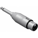 VC121 - Adapter Xlr Female - Jack Malemono