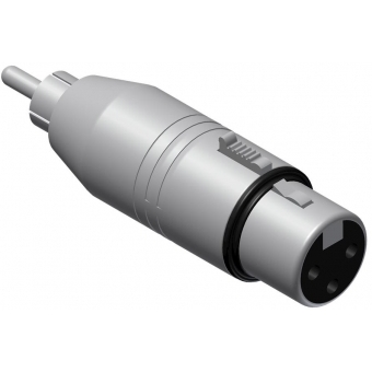 VC130-P - Adapter Xlr Female - Rca/cinchmale - 25 Pcs Pack