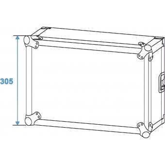 ROADINGER Amplifier Rack PR-2, 6U, 47cm deep #6