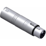VC150 - DMX adapter - 3-pin XLR male - 5-pin XLR female - Adapter