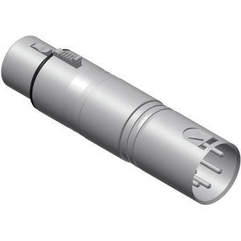 VC155 - Adapter Xlr Female 3-pin - Xlrmale 5 Pin Dmx