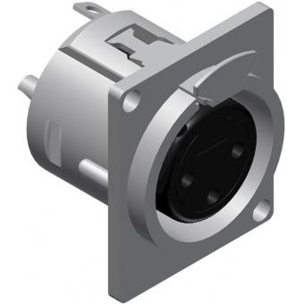 VC3FDL-P - Connector Xlr Female - D-sizepanel - 50 Pcs Pack