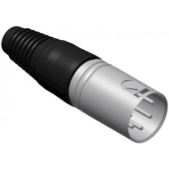 VC5MX-P - 5-pins Xlr Connector Malecable - 25 Pcs Pack