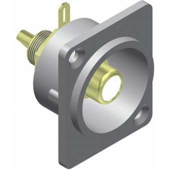 VCD60 - Panel connector - rca/cinch female - metal - Connector