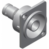 VCD70-P - D-size Bnc Double Femaleconnector - Metal - 25pcs Pack