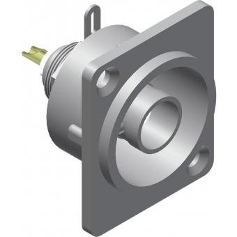VCD72-P - D-size Bnc Female Connector -metal - 25 Pcs Pack
