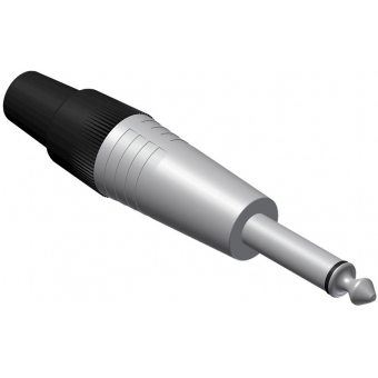 VCJ2MX-P - Connector 6.3mm Jack Male Mono- 25 Pcs Pack