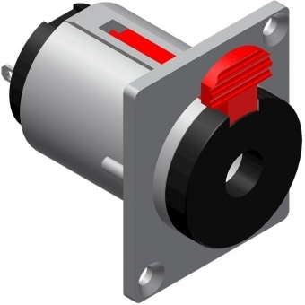 VCJ3FP - Connector 6.3mm Jack Femalestereo - D-size Panel