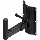 WLB25/B - Speaker Wall Mount Bracket - 35 Mm Pole - 250 Mm - Black