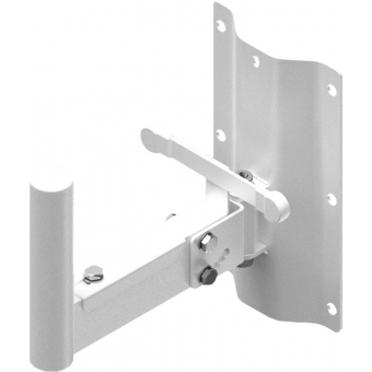 WLB25/W - Speaker Wall Mount Bracket - 35 Mm Pole - 250 Mm - White